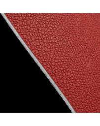 BRAUM RED LEATHERETTE MATERIAL