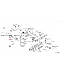 350z de Nissan OEM Rear Fuel Dampener Hard Line Tube