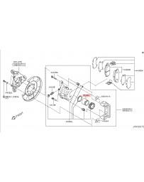 350z Nissan OEM Caliper Piston