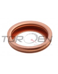 370z Nissan OEM Oil Drain Plug Bolt Copper Crush Washer Gasket