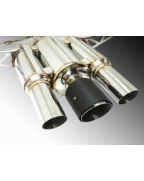 Remark Spec III Resonated Triple Tip Catback Exhaust with Carbon Fiber Tip Cover Honda Civic Type-R 17-19
