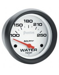 Nissan GT-R R35 Autometer Phantom Water Temperature Gauge 100-250 Deg F - 52mm