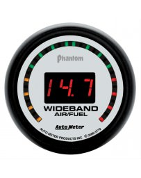 Nissan GT-R R35 AutoMeter Phantom Digital Wideband Air / Fuel Ratio Gauge - 52mm