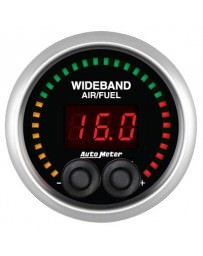 Nissan GT-R R35 AutoMeter ES Electrical Wideband Air / Fuel Ratio Gauge - 52mm