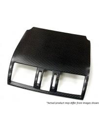 Revel GT Dry Carbon A/C Front Cover 15-18 Subaru WRX/STI - 1 Piece