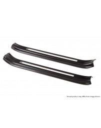 Revel GT Dry Carbon Door Sill Covers (Left & Right) 15-18 Subaru WRX/STI - 2 Pieces