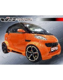 VIS Racing 2008-2011 Smart Fr2 Max Wide Body Full Lip Kit