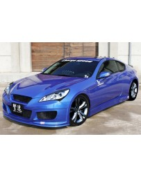 ChargeSpeed 4-Piece Body Kit Hyundai Genesis Coupe 10-12