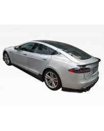 VIS Racing 2012-2015 Tesla Model S VIP Carbon Fiber Side Skirts