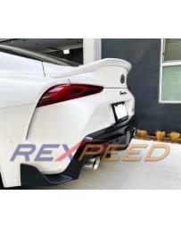 Toyota Supra GR A90 Rexpeed Painted Fiberglass Spoiler