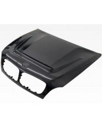 VIS Racing Carbon Fiber Hood DTM Style for BMW X5 (E70) 4DR 07-13