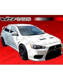 VIS Racing 2008-2013 Mitsubishi Lancer 4Dr Ev10 Widebody Conversion Full Kit