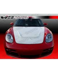 VIS Racing 2005-2011 Porsche 997 2Dr G Tech Style Fiberglass Hood