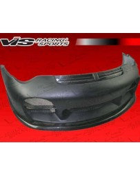 VIS Racing 2002-2004 Porsche 996 2Dr A Tech Front Bumper With Carbon Lip And Grill