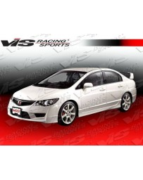 VIS Racing 2006-2011 Honda Civic 4Dr Jdm Type R Front End Conversion With Techno R Front Lip