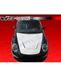 VIS Racing 1999-2005 Porsche 996 G Tech Style Fiberglass Hood