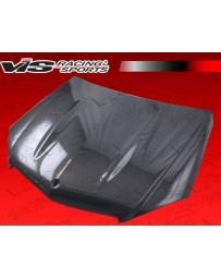 VIS Racing Carbon Fiber Hood OEM Style for Mercedes C-Class C63 4DR 08-11