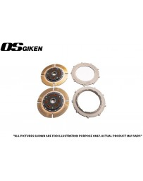 OS Giken TR Twin Plate Clutch for Alfa Romeo 2000cc (US Model) - Overhaul Kit A
