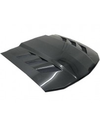 VIS Racing Carbon Fiber Hood AMS Style for Ford MUSTANG 2DR 05-09
