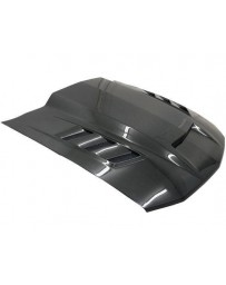 VIS Racing Carbon Fiber Hood Terminator Style for Ford MUSTANG 2DR 05-09