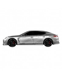 VIS Racing 2010-2013 Porsche Panamera Speed Star Side Skirts