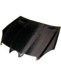 VIS Racing Carbon Fiber Hood OEM Style for Mercedes SLK 2DR 05-10