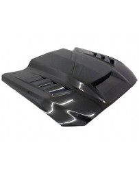 VIS Racing Carbon Fiber Hood Terminator Style for Ford MUSTANG 2DR 15-17