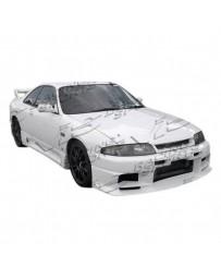 VIS Racing 1995-1998 Nissan Skyline R33 Gtr 2Dr Terminator Full Kit