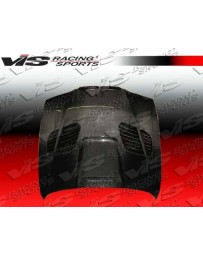 VIS Racing Carbon Fiber Hood GTR Style for BMW 5 SERIES(E39) 4DR 97-03