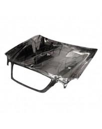 VIS Racing Carbon Fiber Hood OEM Style for Mercedes CLK 2DR 98-02