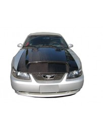 VIS Racing Carbon Fiber Hood GT 500 Style for Ford MUSTANG 2DR 99-04