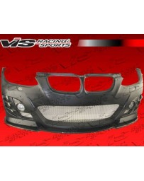 VIS Racing 2007-2010 Bmw E92 2Dr Rsr Front Bumper With Carbon Fiber Lip