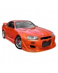 VIS Racing 1999-2004 Nissan Skyline R34 Gtr 2Dr Invader Full Kit