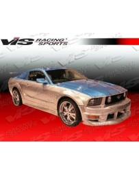 VIS Racing 2005-2009 Ford Mustang 2Dr Burn Out Full Kit With Fender Flares