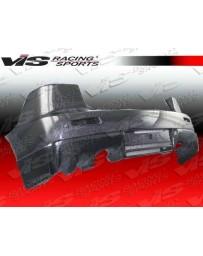 VIS Racing 2008-2014 Mitsubishi Evo 10 Oem Style Carbon Fiber Rear Bumper Cover
