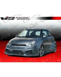VIS Racing 2005-2008 Suzuki Swift 4Dr Viper 8 Pieces Wide Body Full Kit