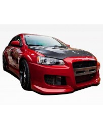 VIS Racing 2008-2015 Mitsubishi Evo 10 Z Speed Wide Body Fender Flares