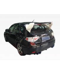 VIS Racing Carbon Fiber Spoiler VRS Style for Subaru WRX Hatchback 08-14