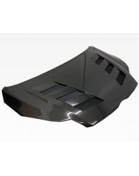 VIS Racing Carbon Fiber Hood AMS Style for Ford Focus 2DR & 4DR 12-14