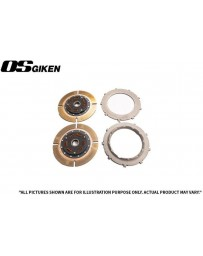 OS Giken TS Twin Plate Clutch for Mitsubishi CE9A Lancer Evo I-III - Overhaul Kit A