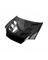 VIS Racing Carbon Fiber Hood AMS Style for Hyundai Tiburon 2DR 03-06