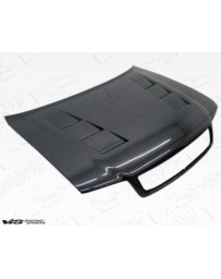 VIS Racing Carbon Fiber Hood Terminator Style for AUDI A4 4DR 96-01