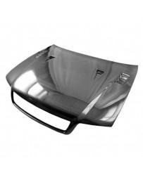 VIS Racing Carbon Fiber Hood DTM Style for AUDI A4 4DR 96-01