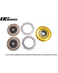 OS Giken TR Twin Plate Clutch for Mitsubishi CP9A Lancer Evo 4-9 - Overhaul Kit B