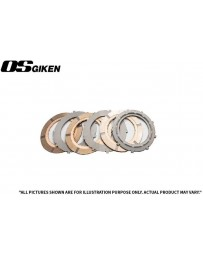 OS Giken R Triple Plate Clutch for Mitsubishi CP9A Lancer Evo 4-9 - Clutch Kit