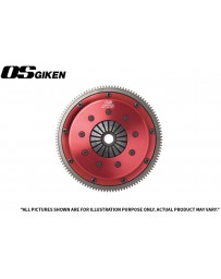 OS Giken STR Twin Plate Clutch for Mitsubishi CZ4A Evo X - Clutch Kit