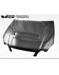 VIS Racing Carbon Fiber Hood Alfa Style for Lexus GS300/400 4DR 98-05