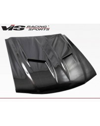 VIS Racing Carbon Fiber Hood Stalker 2 Style for Ford MUSTANG 2DR 94-98