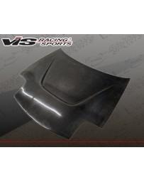 VIS Racing Carbon Fiber Hood JS Style for Mazda RX7 2DR 93-96