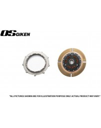 OS Giken SuperSingle Single Plate Clutch for Mazda FD3S RX-7 Steel Cover - Overhaul Kit A